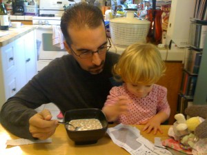 Cereal and coloring - a perfect match!