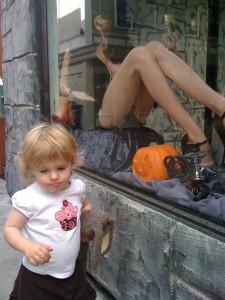 We toured Petaluma's back alleys.